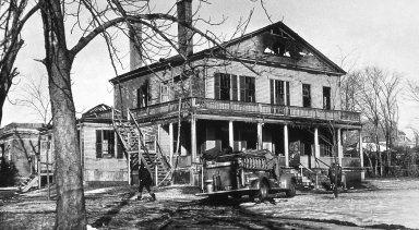Swain Mansion After the Fire