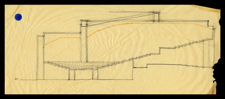 Auditorium Section Sketch