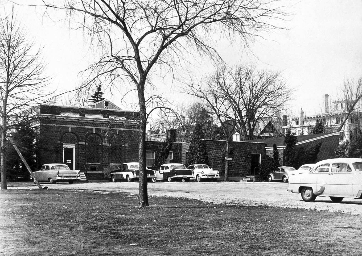 Exterior views of the Crapo Gallery and Studios Building